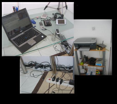 Numerous gadgets